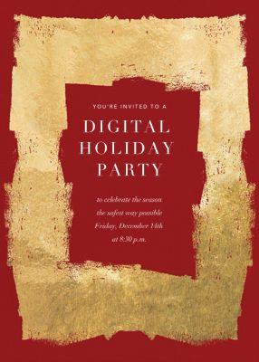 Framework - Kelly Wearstler - Holiday invitations