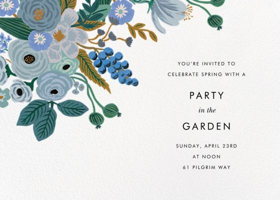 Autumn Knoll (Invitation) - Rifle Paper Co. - Spring Party Invitations
