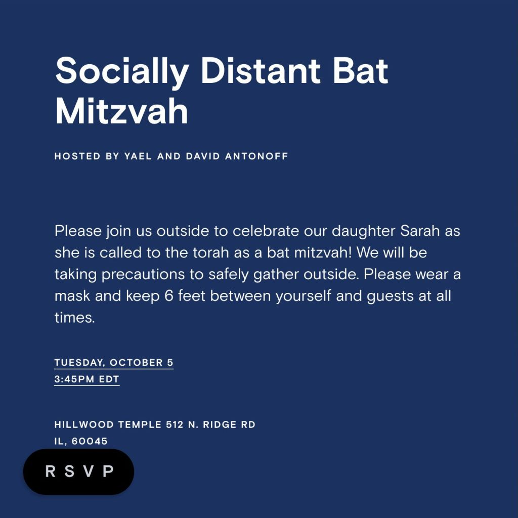Backyard Mitzvah