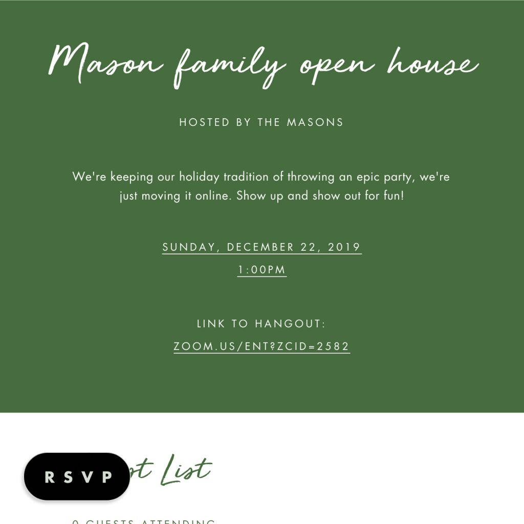 Holly Jolly Open House