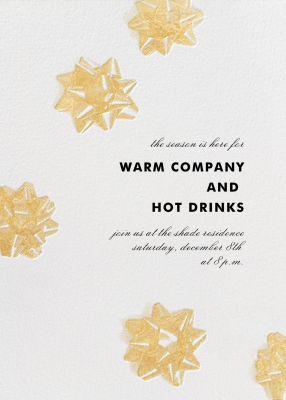 Mylar Stars - Paperless Post - Company holiday party