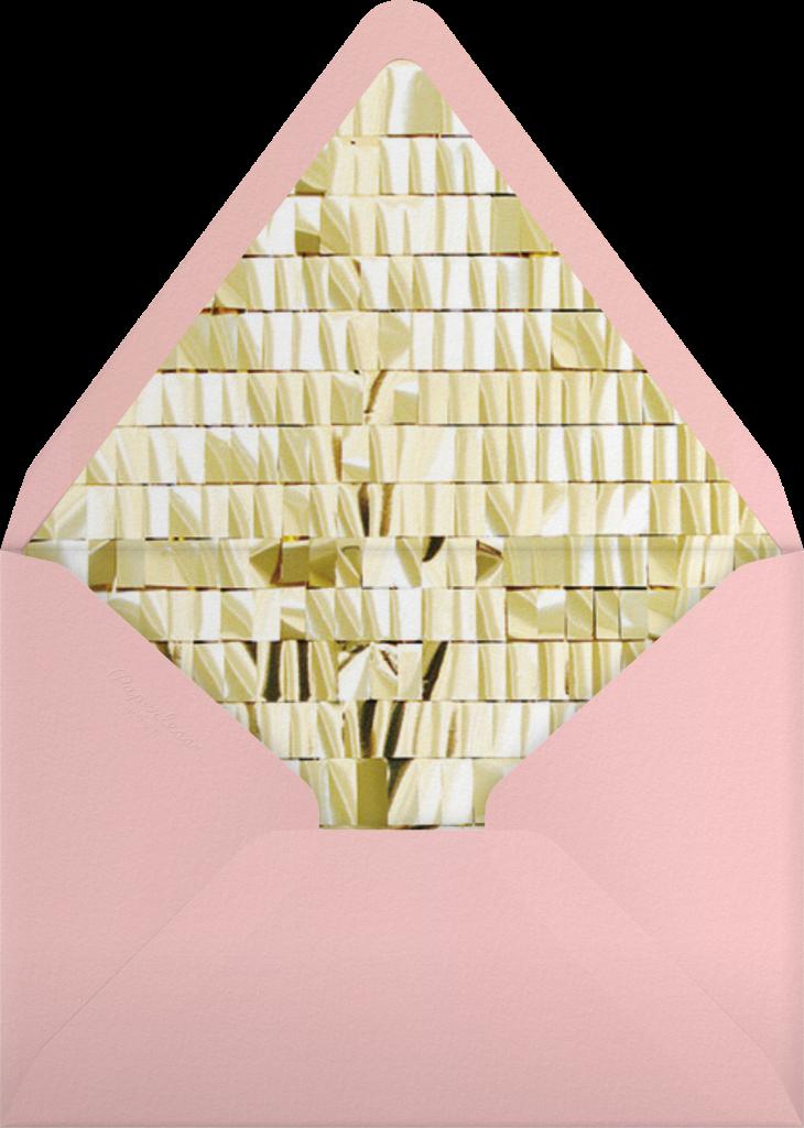 Chorus - Pink - CONFETTISYSTEM - Envelope