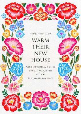 De Colores - Paperless Post - Housewarming Party Invitations