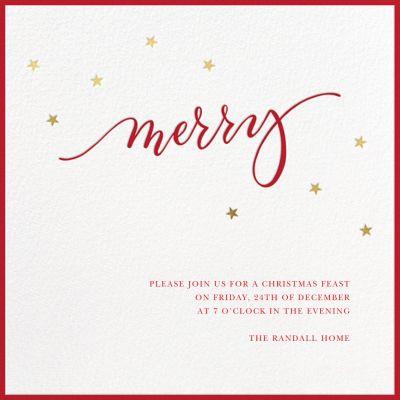 Merry Stars - Sugar Paper