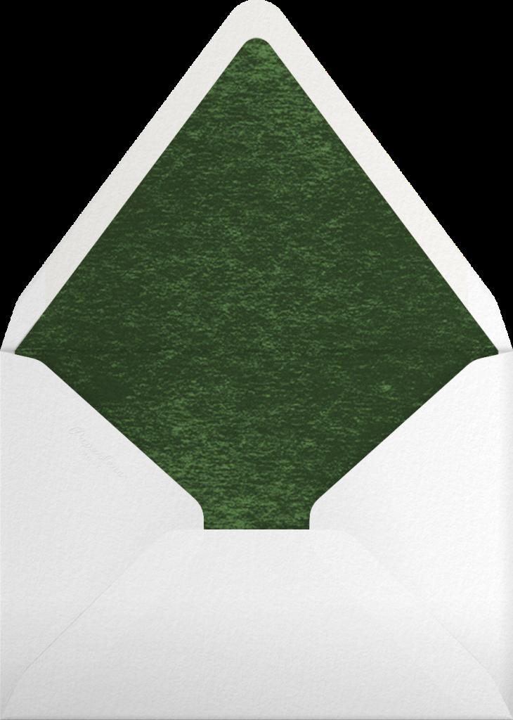 Wood Grain Color Slabs - Black - Paperless Post - Envelope