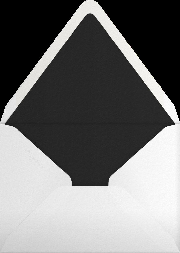 Gradient Messy Strokes - Black - Paperless Post - Envelope