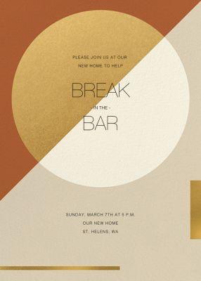 Danaë (Invitation) - Paperless Post