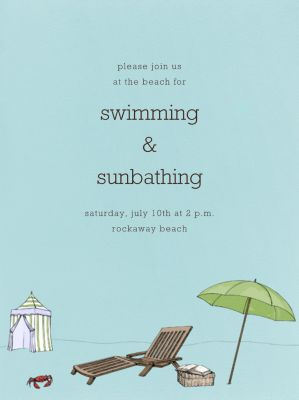 Beach Vignette - Paperless Post