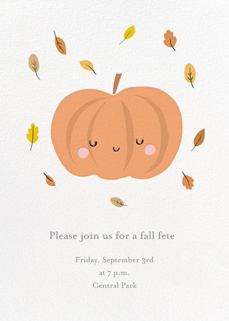 Little Pumpkin - Little Cube