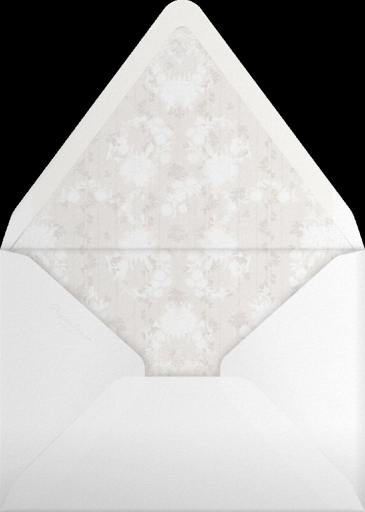 Elisabetta (Invitation) - Cream - Brock Collection - Envelope