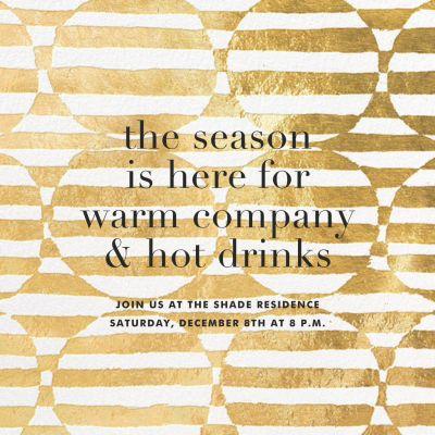 Troupe - Kelly Wearstler - Holiday invitations