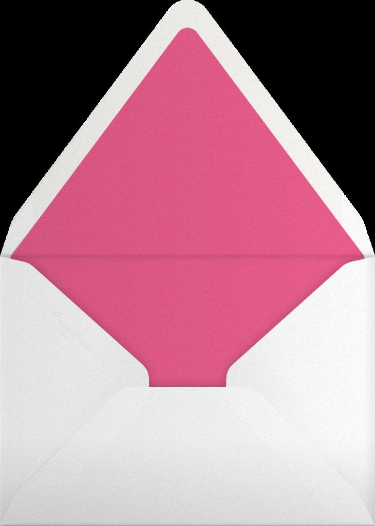 Gradient Full (Tall) - Pink - Paperless Post - Envelope