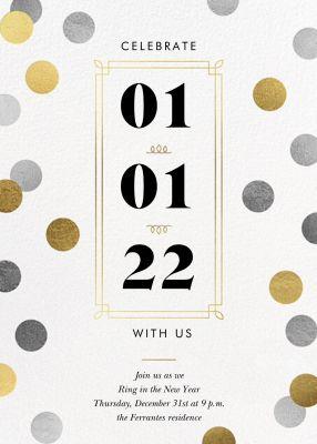 Confetti Date - Paperless Post