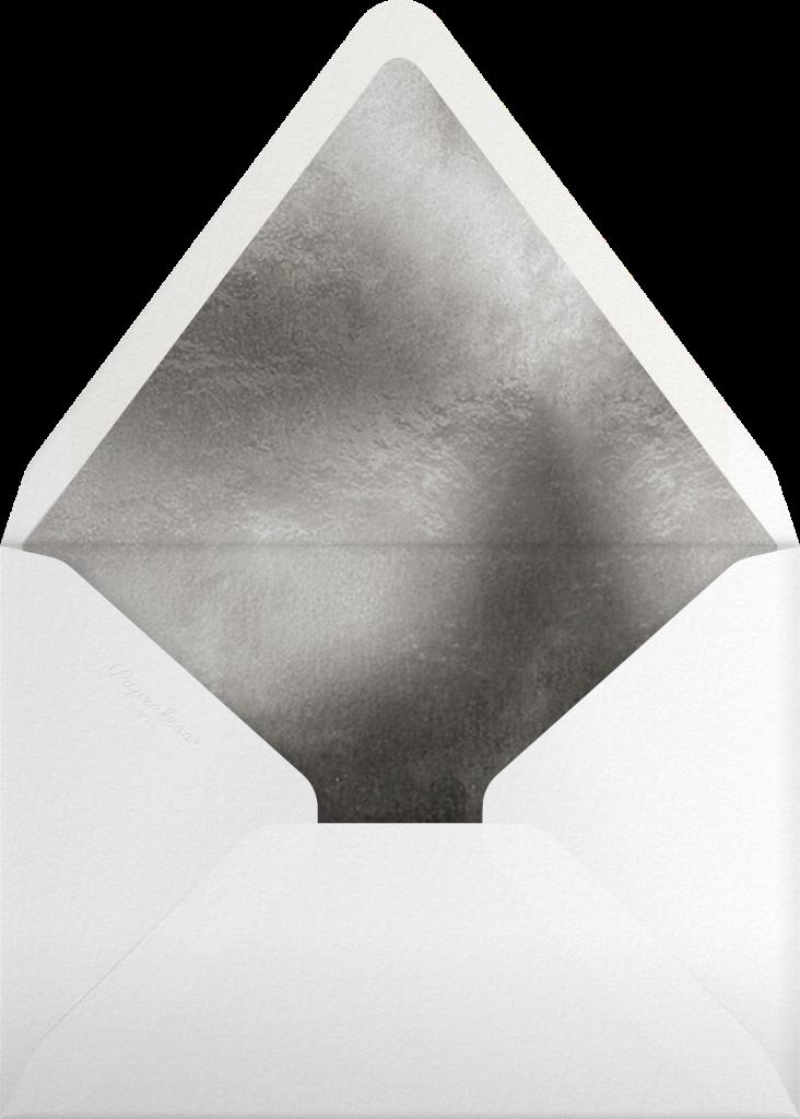 Tree Topper - Black - Paperless Post - Envelope