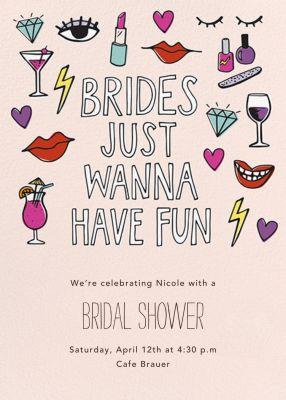 Brides Wanna - Paper Source