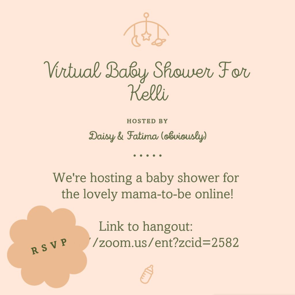 Chat Room Baby Shower