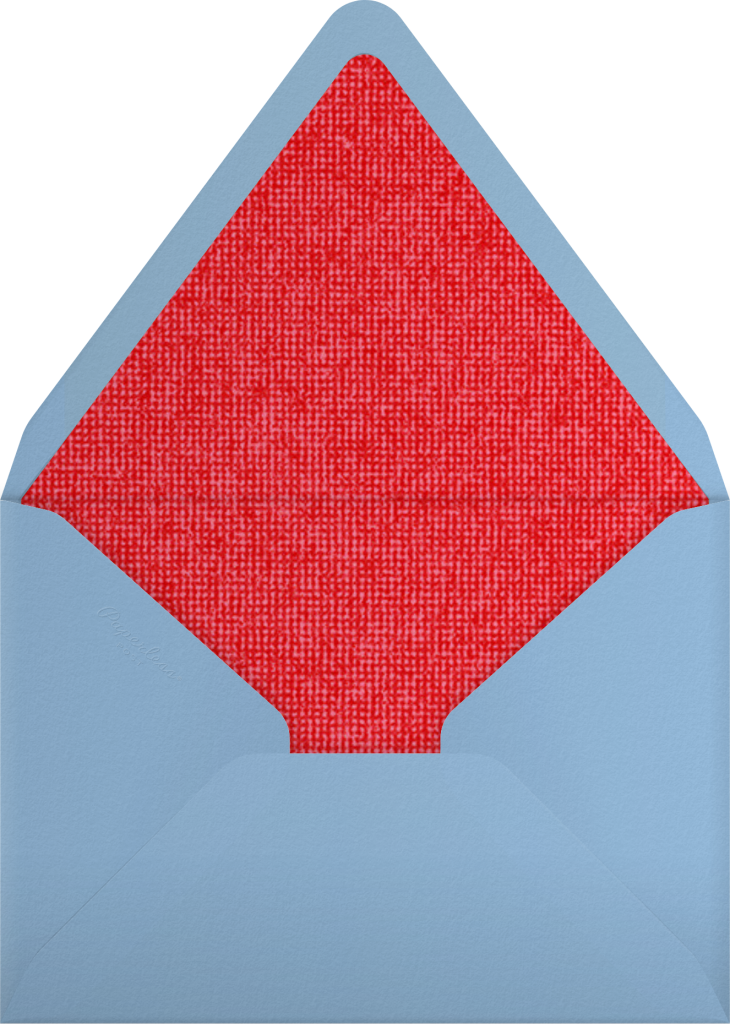 Dancing Drinks - Paperless Post - Envelope