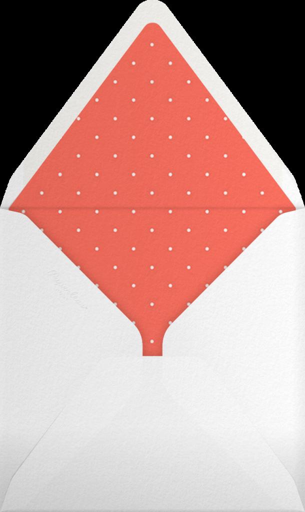Spec in Capri - Coral  - Mr. Boddington's Studio - Envelope