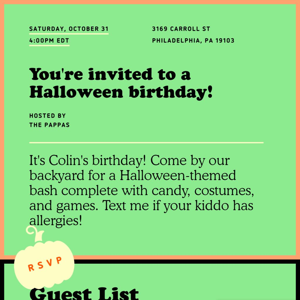 Birthdayween