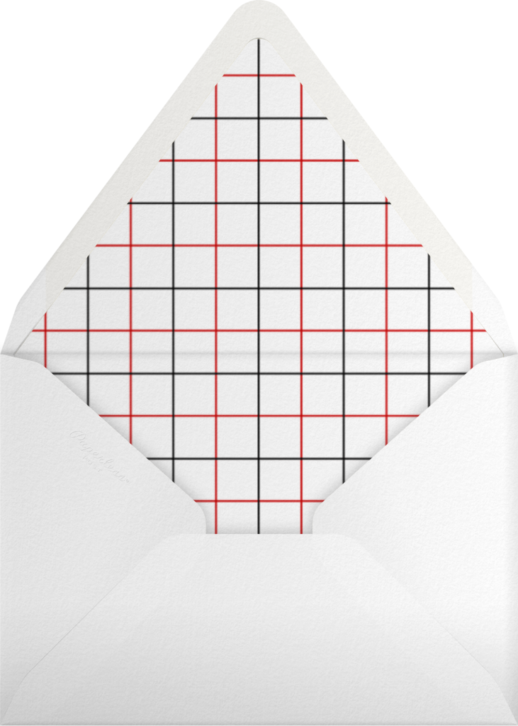 Plaid Tidings - Cheree Berry Paper & Design - Envelope