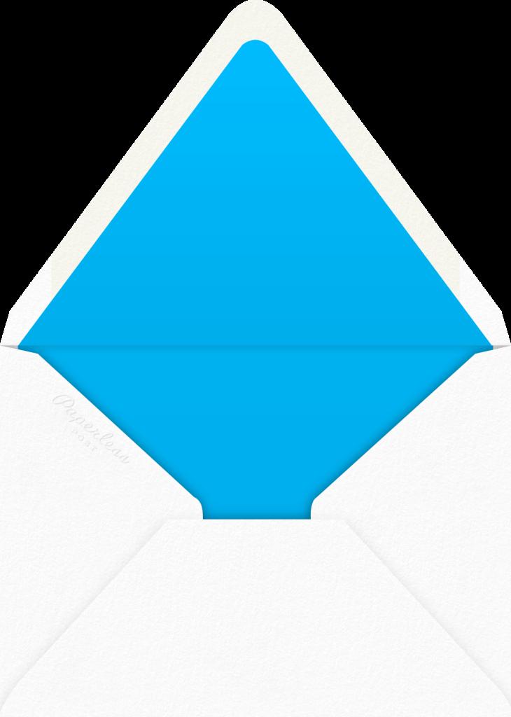 Kaleidoscope - Blue - Paperless Post - Envelope