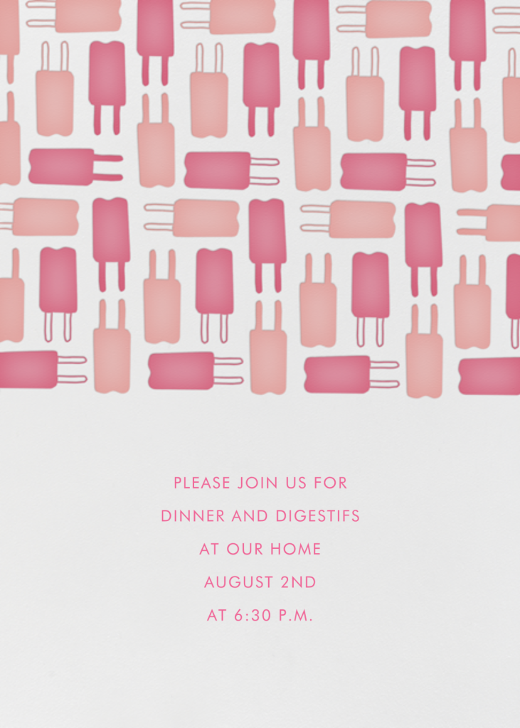 Popsicle Pattern - Pinks - Linda and Harriett