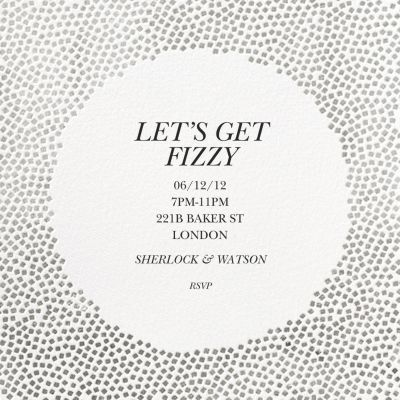 Konfetti - Kelly Wearstler - Holiday invitations