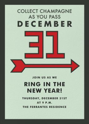 Pass Dec 31 - Paperless Post - New Year's Eve Invitations