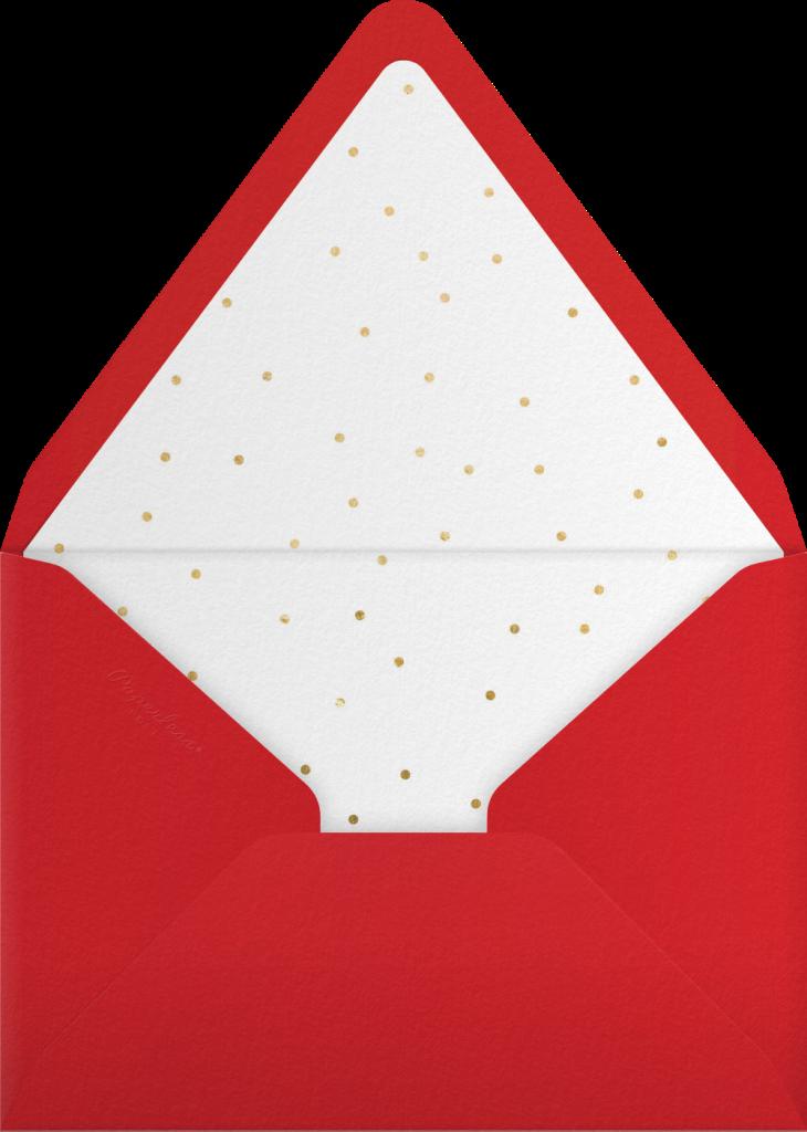 Holly Night - Sugar Paper - Envelope