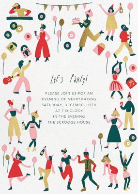 Season's Turn - Hello!Lucky - Holiday invitations