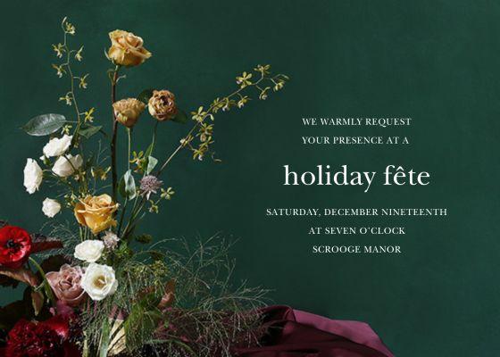 Frimaire - Putnam & Putnam - Holiday invitations