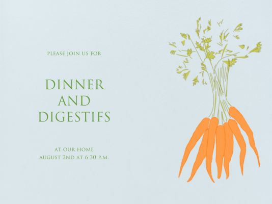 Carrots - Paperless Post