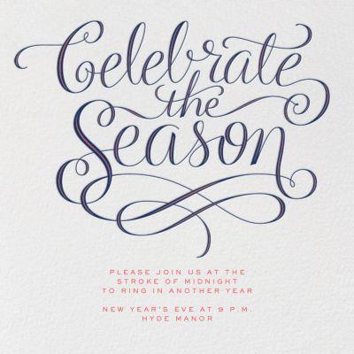 Celebrate The Season - Paperless Post