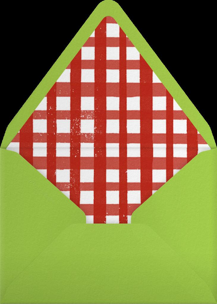 Strawberries - Paperless Post - Envelope