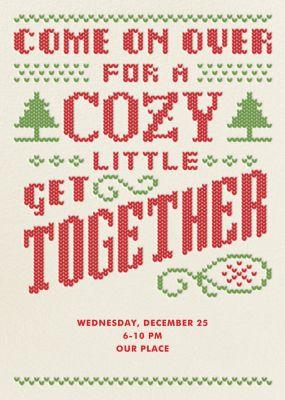 Cozy Get Together - Crate & Barrel
