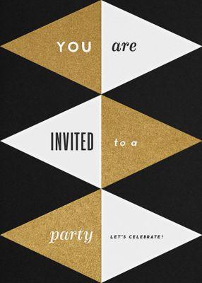 Deco Invite - The Indigo Bunting