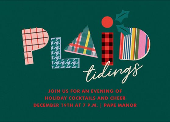 Plaid Tidings - Cheree Berry Paper & Design
