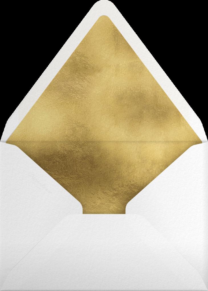 Poinsettia Wreath (Tall) - White - Rifle Paper Co. - Envelope