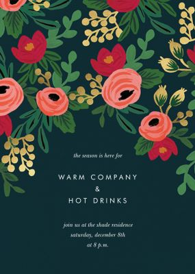 Rosy Cheeked - Rifle Paper Co. - Printable Invitations