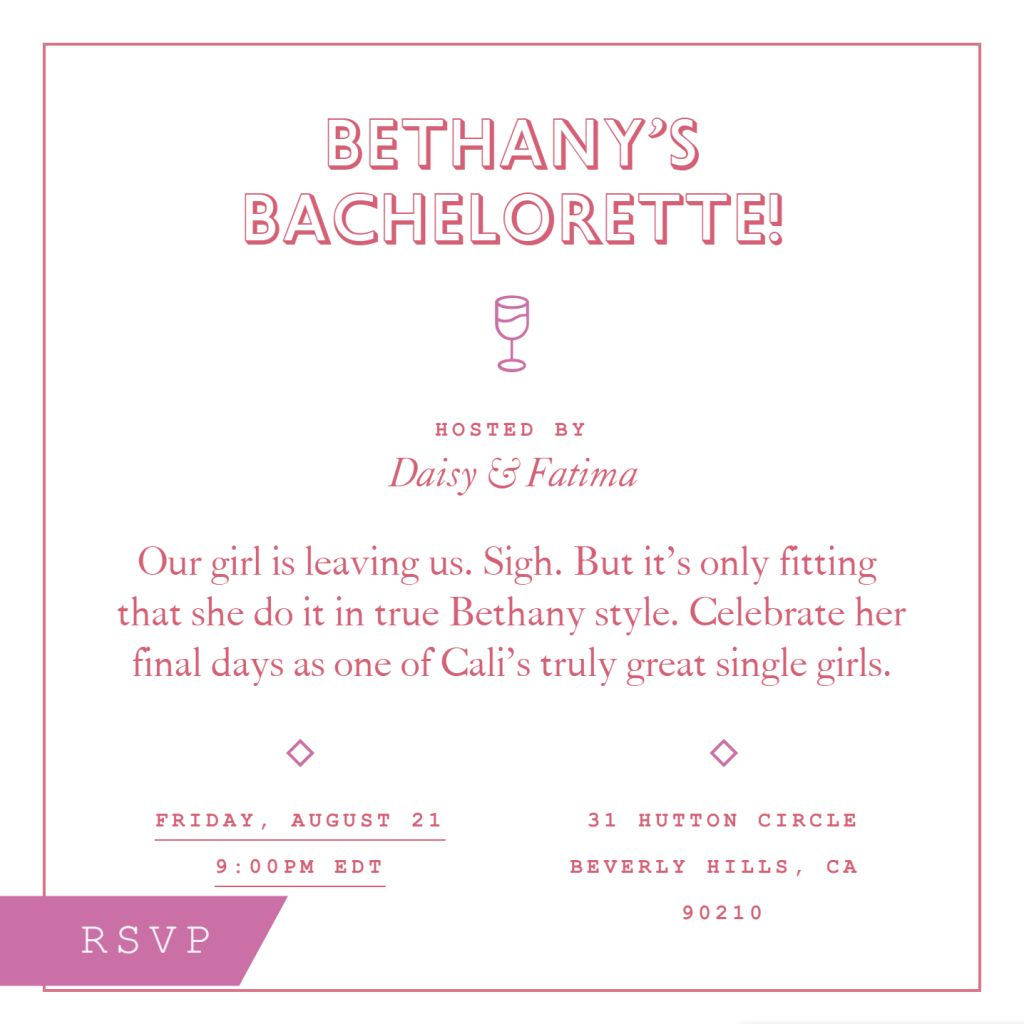 Ready, Set, Bachelorette