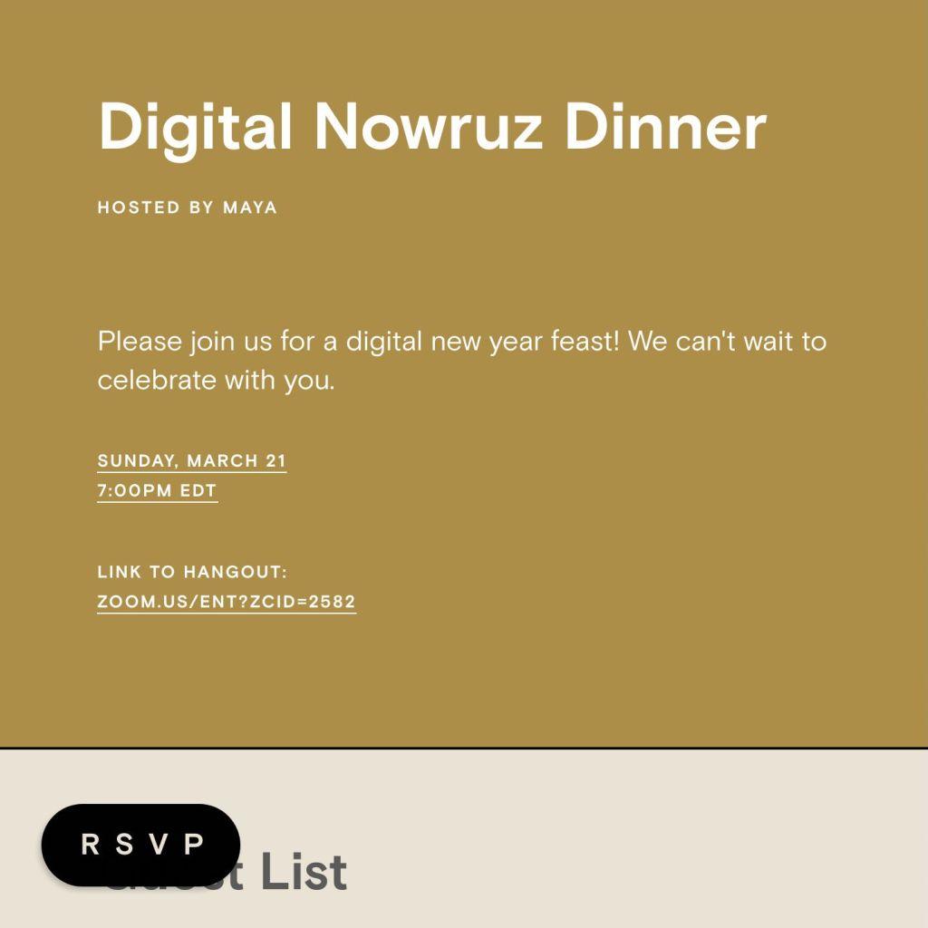 Nowruz Party