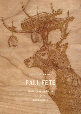 Buck and Wine - Paperless Post