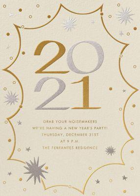 New Year's Kapow - Paperless Post