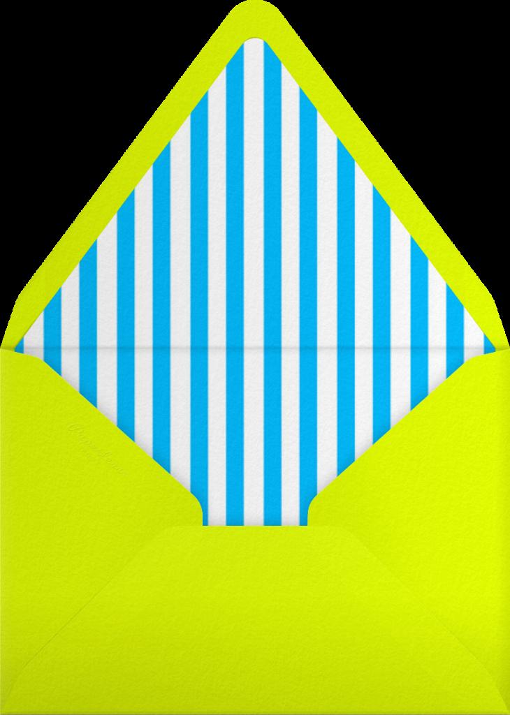 Montreal 1976 - Indigo - Paperless Post - Envelope