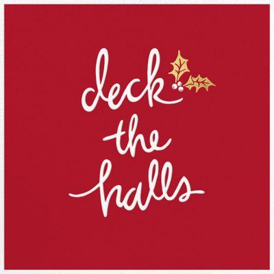 Deck the Halls - Sugar Paper 2017 - Sugar Paper - Holiday invitations