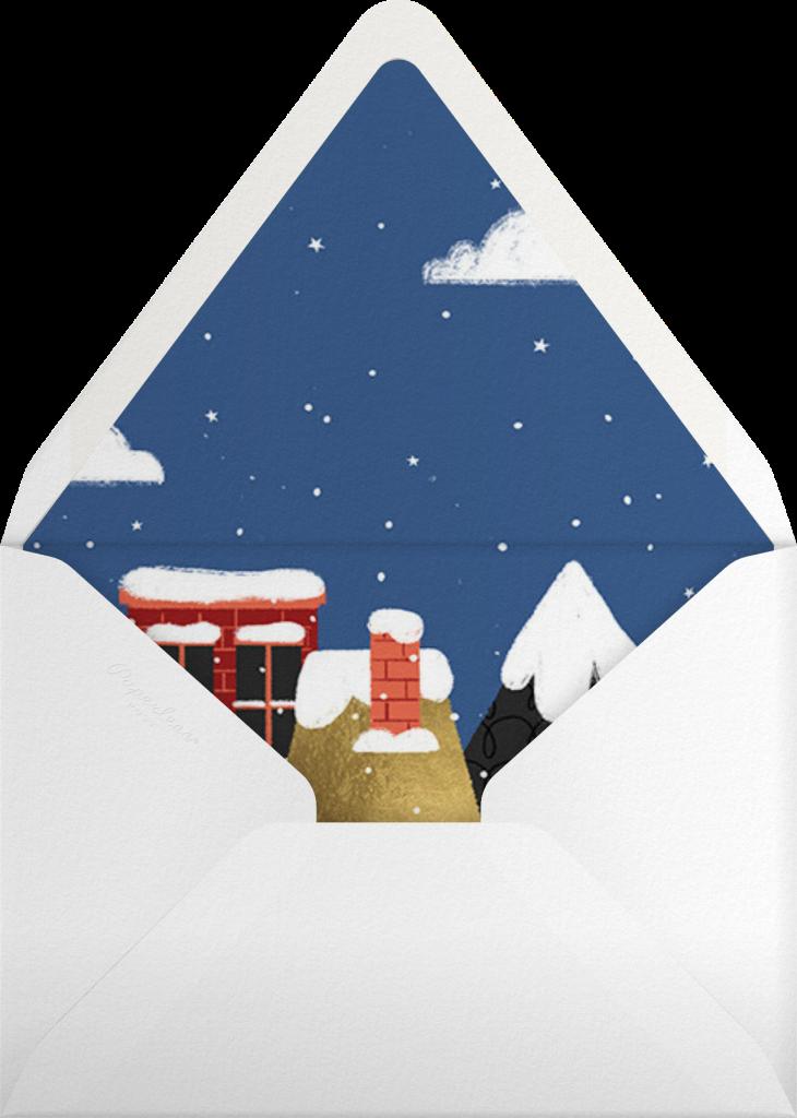 Flight Path - Paperless Post - Envelope