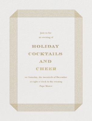 Escalier - Paperless Post - Company holiday party