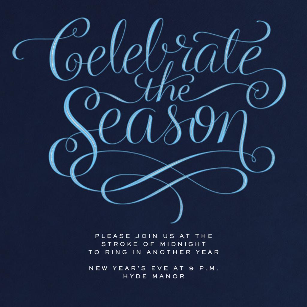 Celebrate The Season - Night - Paperless Post