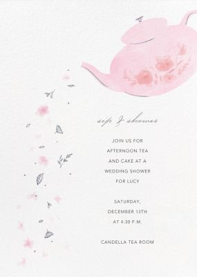 Pouring Petals - Paperless Post