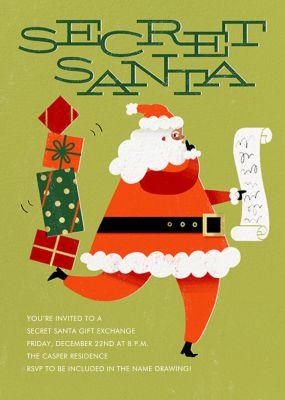 Santa's Got a Secret - Paperless Post